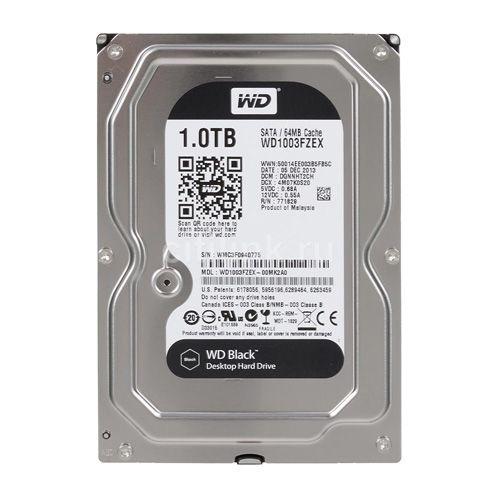WD HDD 1TB Black 7200rpm
