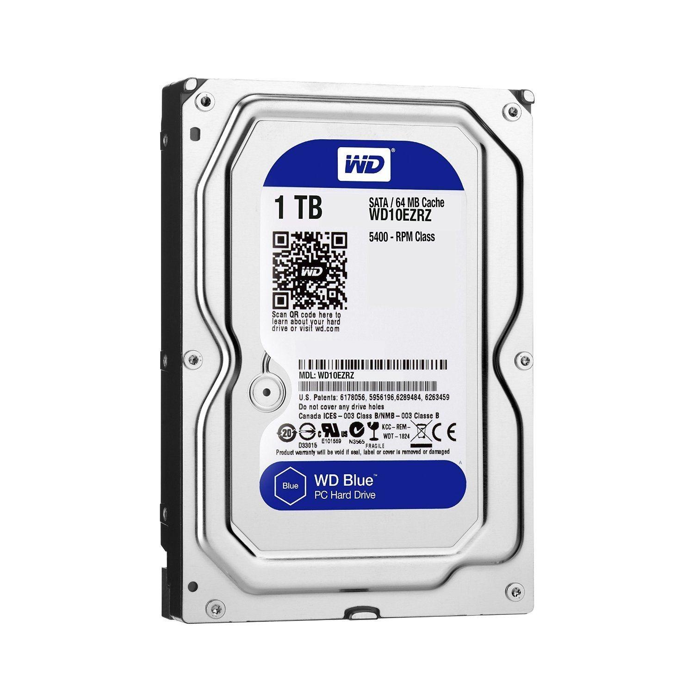 WD HDD 1TB Blue 7200rpm