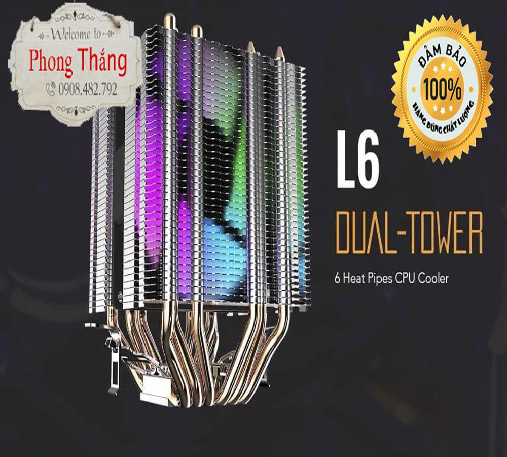 Quạt Tản Nhiệt CPU Aigo 6 Ống Đồng